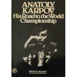 کتاب Anatoly Karpov - His Road to the World Chess Library Championship