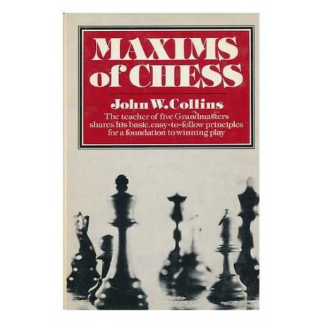 کتاب Maxims of Chess