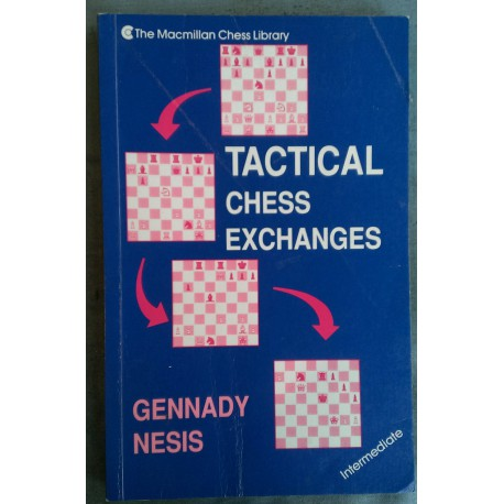 کتاب Tactical Chess Exchanges