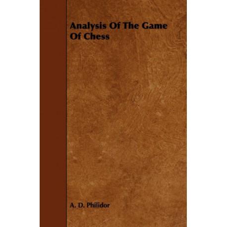 کتاب Analysis of the Game of Chess