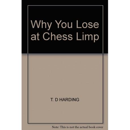 کتاب Why You Lose At Chess Limp