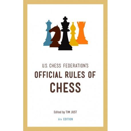 کتاب United States Chess Federation's Official Rules of Chess