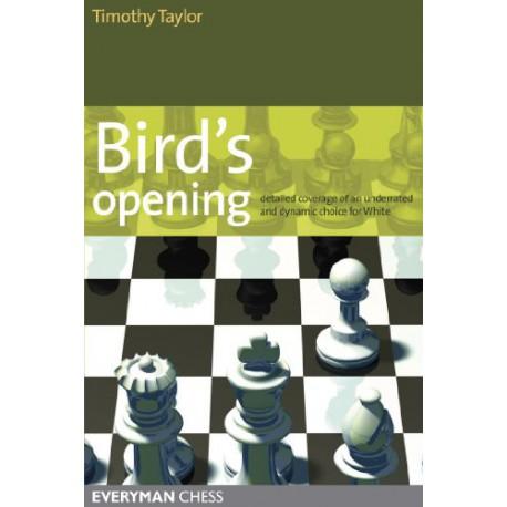 کتاب Bird's Opening - Detailed Coverage of an Underrated and Dynamic Choice for White