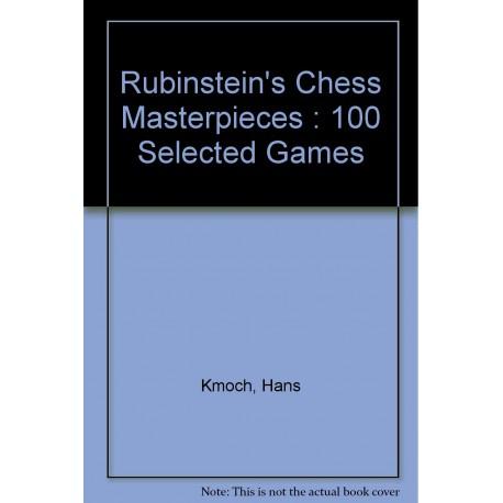 کتاب Rubinstein's Chess Masterpieces - 100 Selected Games