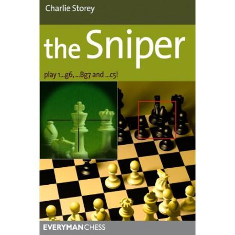 کتاب The Sniper : Play 1...g6, ...Bg7 and ...c5