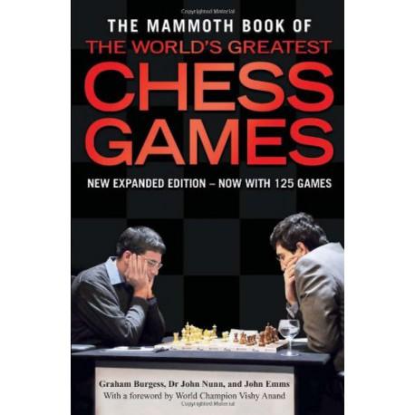 کتاب The Mammoth Book of the World's Greatest Chess Games