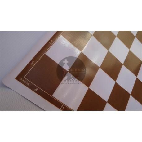 صفحه شطرنج پلاستیکی قهوه ای آچمز استور