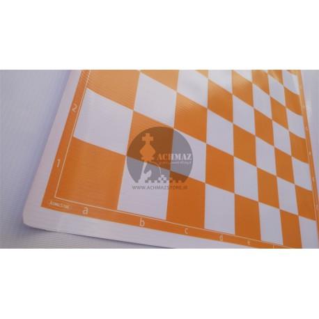 صفحه شطرنج پلاستیکی نارنجی