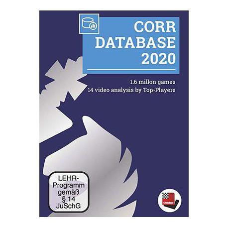 نرم افزار بازی شطرنج CORR DATABASE 2020