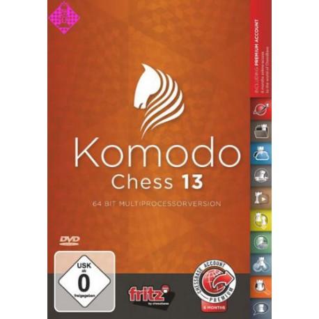 نرم افزار komodo chess 13