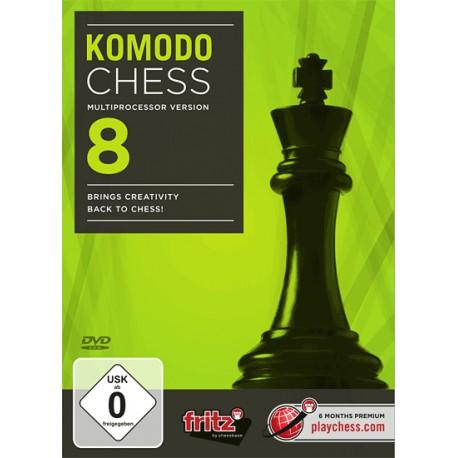 نرم افزار Komodo Chess 8