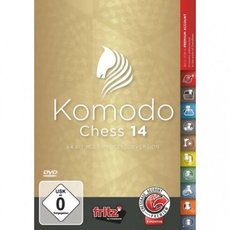 نرم افزار Komodo Chess 14