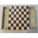 صفحه چوبی شطرنج جامهره دار صنایع دستی کردستان