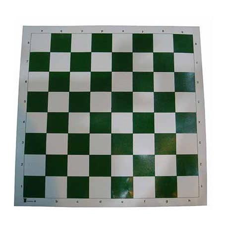 صفحه شطرنج چترنگ (رنگ : سبز)