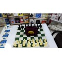 صفحه و مهره شطرنج فدراسیونی کیان مدل کیف دار