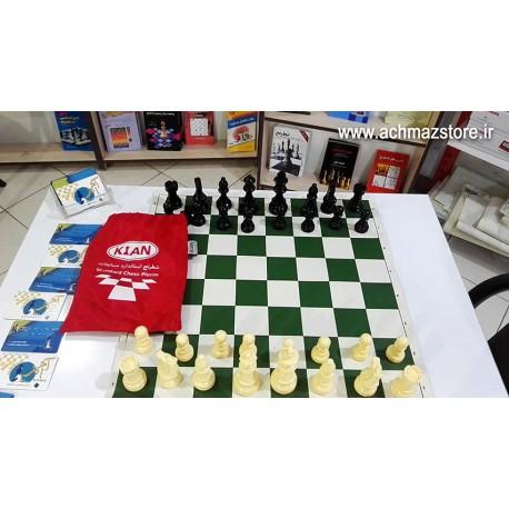 شطرنج استاندارد مسابقات مدل کیان