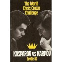 کتاب The World Chess Crown Challenge Kasparov vs Karpov Seville Chess Library 87