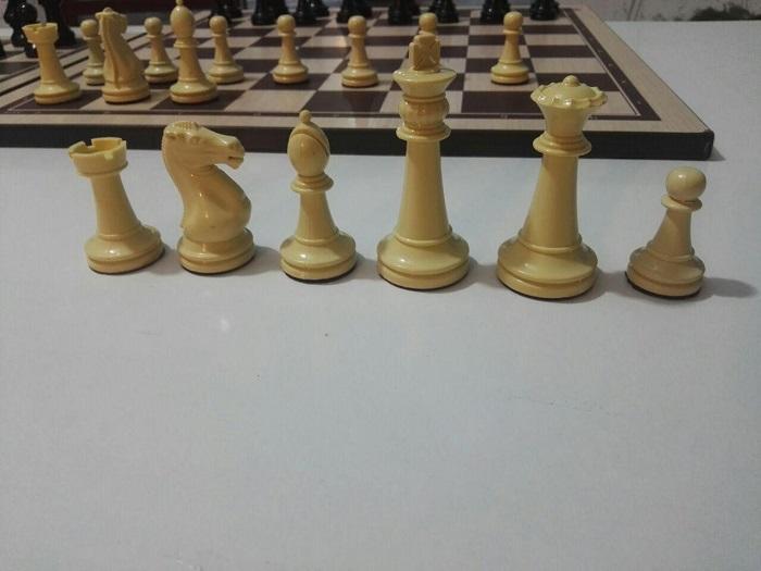 مهره های شطرنج چترنگ مدل کیسه ای