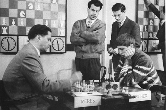 بازی شطرنج پاول کرس در مقابل بابی فیشر سال 1959